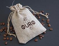 Branding, for Café Ouro.