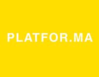 PLATFOR.MA Identity concept