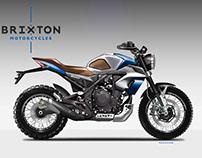 BRIXTON BX 500 TECHNO SCRAMBLER