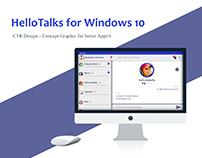 HelloTalks for Windows 10