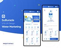 Suburada Mobile App UI&UX Design