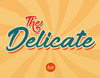 The Delicate Classic Bold Script Font Free Download.
