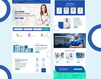 Exploration of Healthcare Landing Page Design