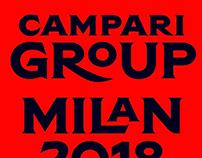 Campari Custom Type Design