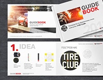 Logotype and identity for TIRE CLUB