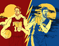 SB Nation NBA Illustrations