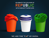 Paper Cups celebrating festivals