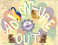 "Disney Pixar Up ""Adventure is Out There"" 