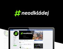 Visual identity (client: Neodkladej)