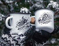 Winter sport illustration set ❄ Снежные картинки