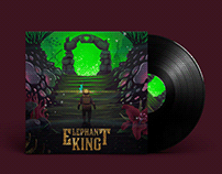 Vinyl Cover Elephant King - The Temple (EP)