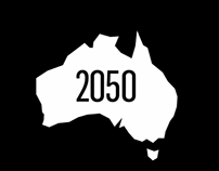 Charter Keck Cramer - 'Australia 2050' Infographic