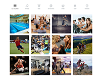 Gallery 4 Columns - Sport WordPress Theme