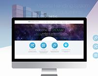 LiftOMetic Website UI