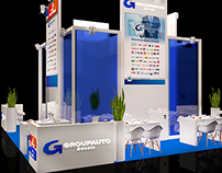 Exhibition stand for Groupauto