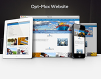 UI/UX Responsive Website for Opt-Max
