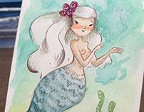 Mermaid of water
