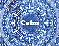 Calming Serenity Mandala