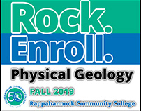 Facebook Ad for Geology Class at Community College