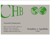 Tarjetas CHB & Asociados