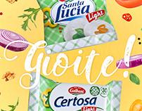 Print adv // Galbani Santa Lucia e Certosa light