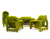 living moss furniture