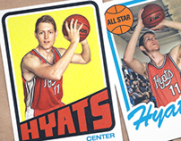 Vintage/retro basketball cards
