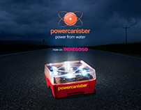 Powercanister – Product campaigne