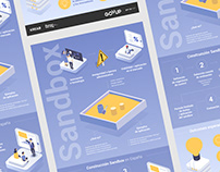 Govup and Cotec / Infographic about Sandbox system