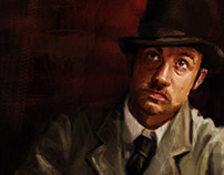 Charcter from Sherlock Holmes Movie