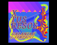 X TUS BESOS - ARTWORK