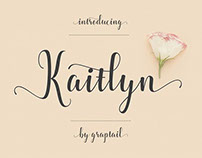 Free Font of the Week - Kaitlyn