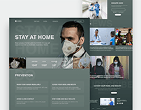 Covid-19 Awareness Landing Page