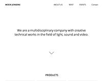 Redesign of Mooie Jongens BV homepage
