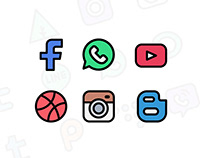 30 Free Social Media Icon (Free for commercial use)