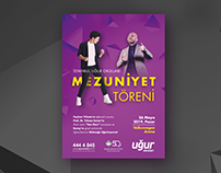 Graduation Ceremony Poster Design