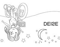Concept Art para Livro Experimental Infantil