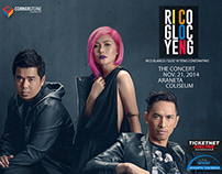 ICON: Rico, Gloc-9, Yeng The Concert - TV Commercial