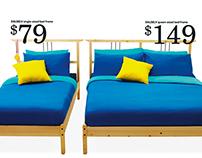 IKEA press ads