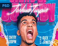 Stand-Up Comedy Flyer - PSD Template