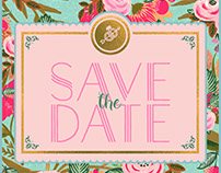 Eshwari & Siddhant - Save the Date!