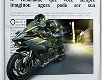 Campanha de lançamento do novo caderno Jornal Em Tempo