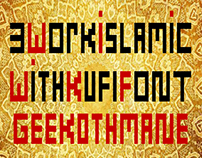 3 Work Islamic With Kufi Font