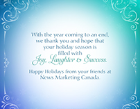 2014 News America Marketing Holiday Card