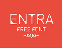 Entra Free Font