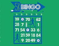 5k Bingo T-Shirt Design