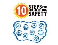 Social Media Safety - Infographic