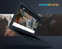 Echodroid Web Design Concept