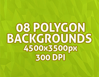 Polygon Backgrounds Vol 1