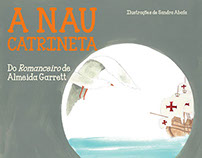 A Nau Catrineta - book cover and pagination